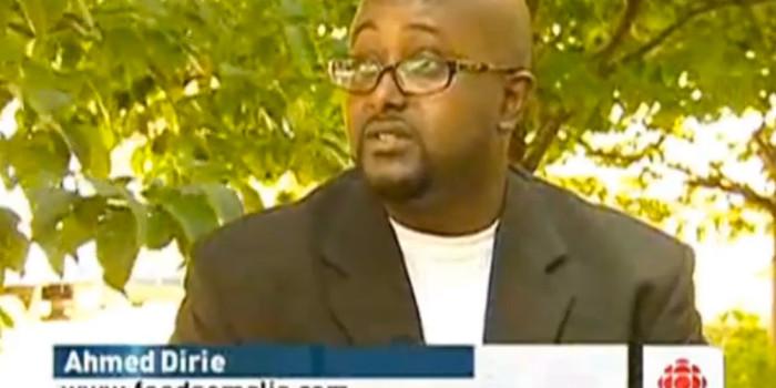 Talking with CBC News Ottawa about Feed Somalia
