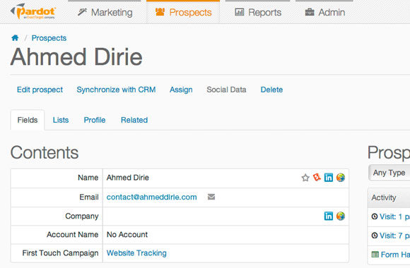 Marketing Automation: Integrating with Pardot's REST API